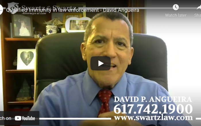 Qualified immunity in law enforcement David Angueira